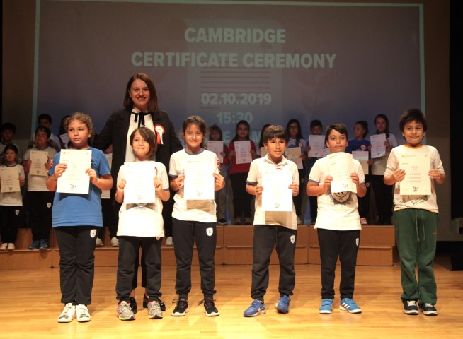 Cambridge Certificate Ceremony...
